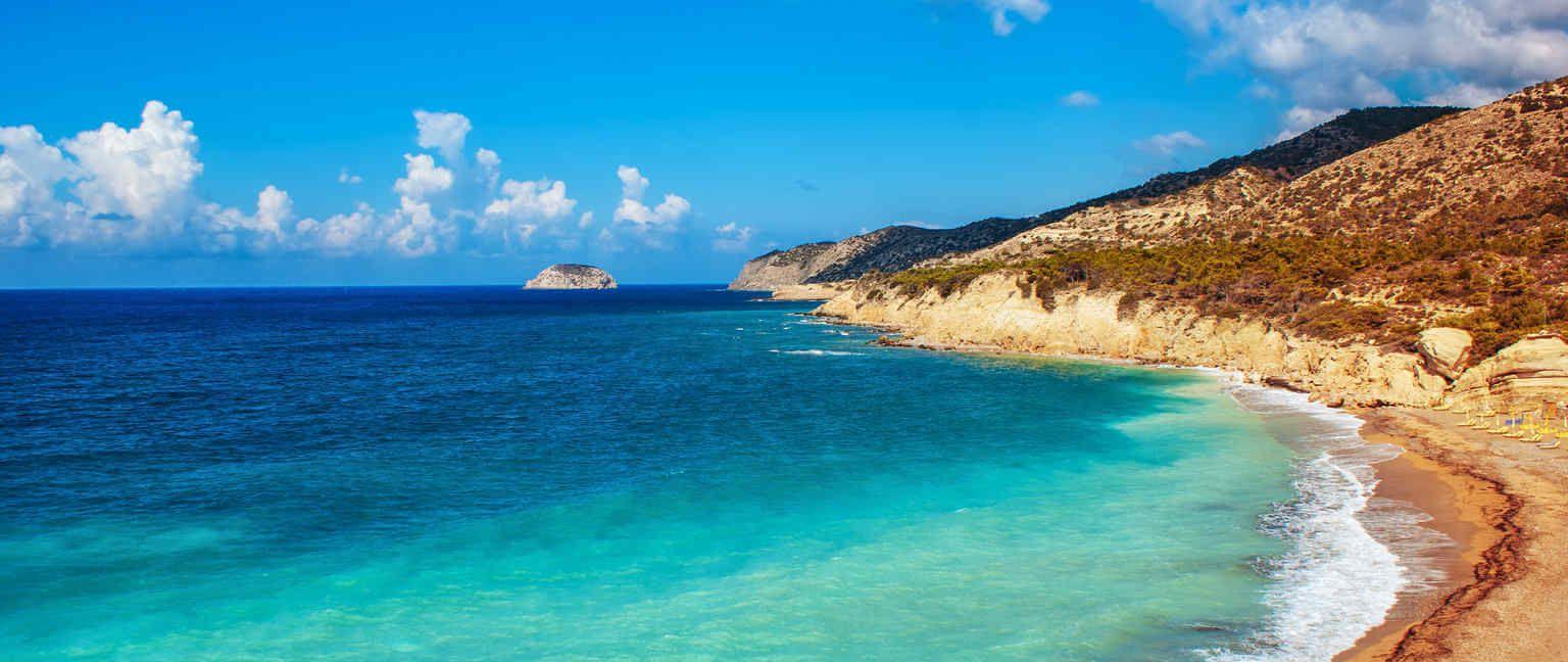 Strand Karte Rhodos.Die Schönsten Strände Auf Rhodos Strandurlaub Rhodos Weg De
