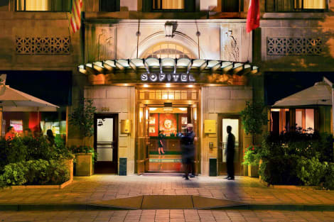 Hotel Sofitel Lafayette Square Washington Dc