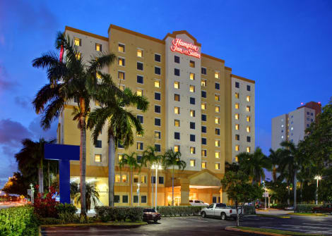 Hotel Hampton Inn & Suites Miami-Airport South-Blue Lagoon