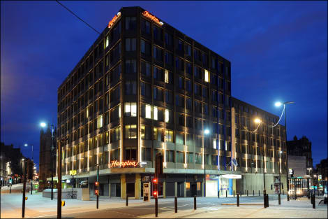 Hampton by Hilton Newcastle Hotel