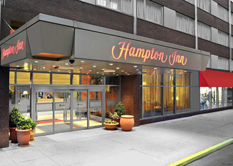 Hotel Hampton Inn Manhattan/Times Square Central