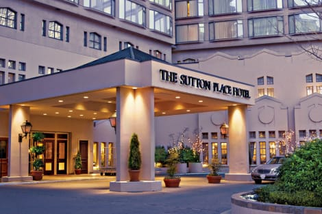 Hotel The Sutton Place Hotel - Vancouver