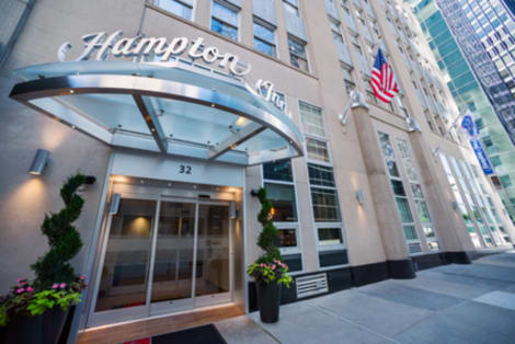 Hotel Hampton Inn Manhattan/Downtown-Financial District