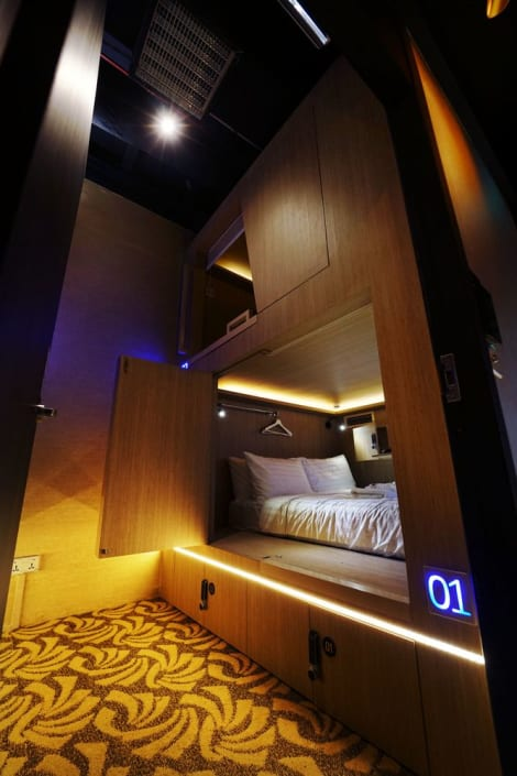 CUBE Boutique Capsule Hotel @ Kampong Glam Hotel