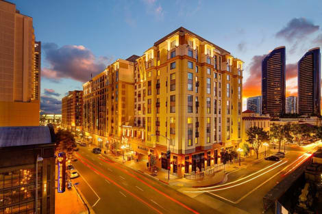 Apartahotel Residence Inn By Marriott San Diego Downtown/gaslamp Quarter