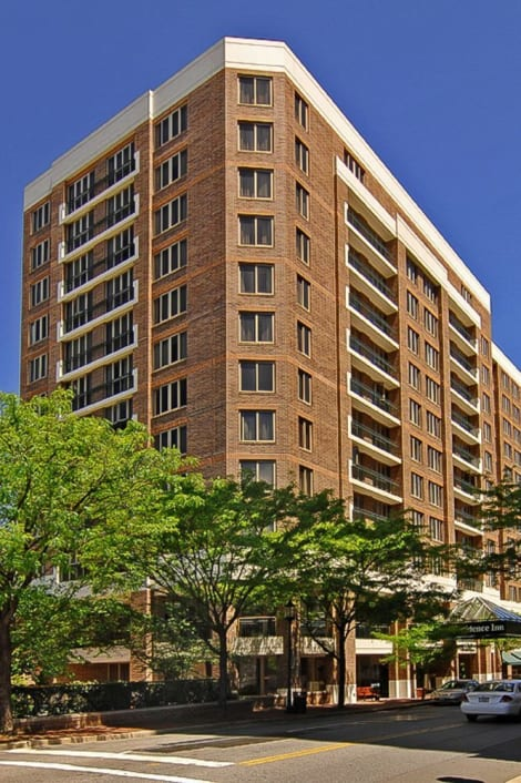 Hotel Residence Inn By Marriott Bethesda Downtown