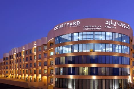 Courtyard by Marriott Riyadh Diplomatic Quarter Hotel