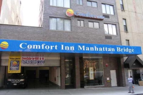 Hotel Comfort Inn Manhattan Bridge