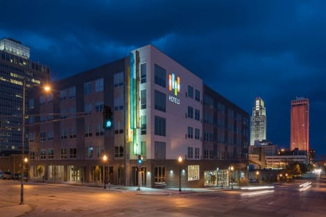 HotelEVEN Hotels OMAHA DOWNTOWN