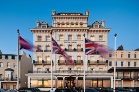 Newly Refurbished - Mercure Brighton Seafront Hotel