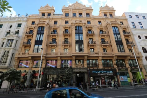 Hotel Hostal Hispano Argentino Gran Via