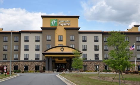 Holiday Inn Express Perry-National Fairground Area Hotel