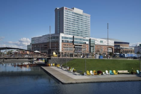 Hotel Buffalo Marriott Harborcenter