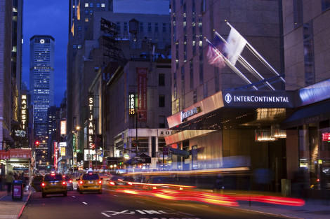 Intercontinental Hotels New York Times Square Hotel