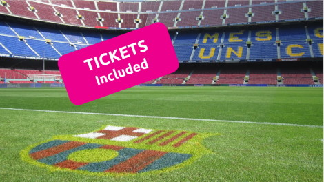 Moderno hotel + FC Barcelona tickets included Hotel
