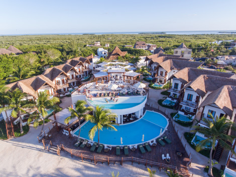 Casa iguana holbox hotel isla holbox from 400 for Villas hm palapas del mar