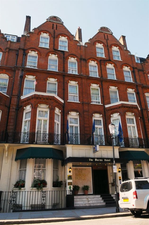 Best Western Hotel Room: Best Western Burns Hotel Kensington Hotel (London) From £