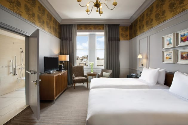 Waldorf Astoria Edinburgh The Caledonian Hotel Edinburgh From