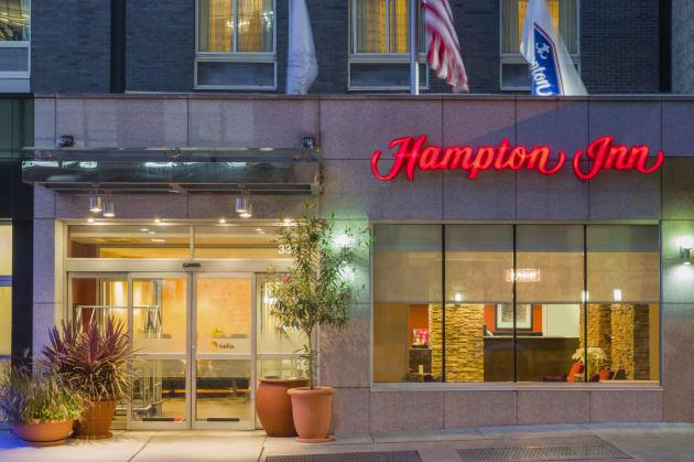 Htel Hampton Inn Manhattan Times Square South 1
