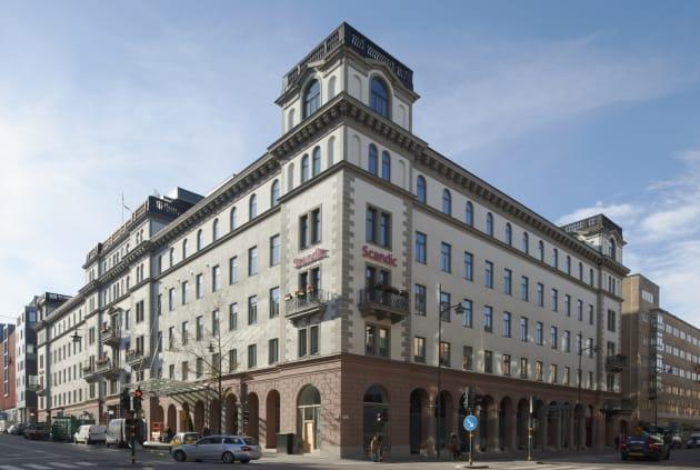 scandic hotell i stockholm