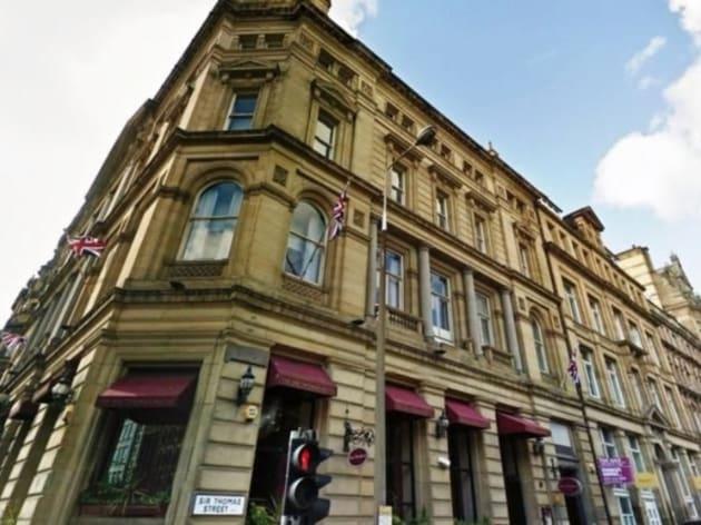 Sir Thomas Hotel Liverpool Menu