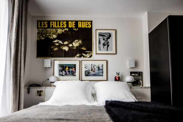 le pigalle hotel paris from 276. Black Bedroom Furniture Sets. Home Design Ideas