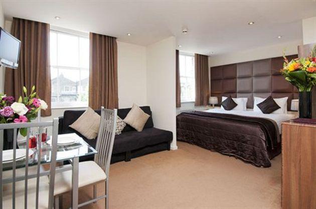 Hotel grand plaza serviced apartments londra da 131 for Somerset hotel londra