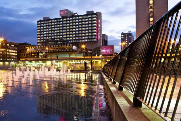 Mercure Manchester Piccadilly Hotel 1