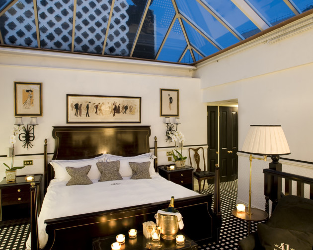 hotel 41 london from 395. Black Bedroom Furniture Sets. Home Design Ideas