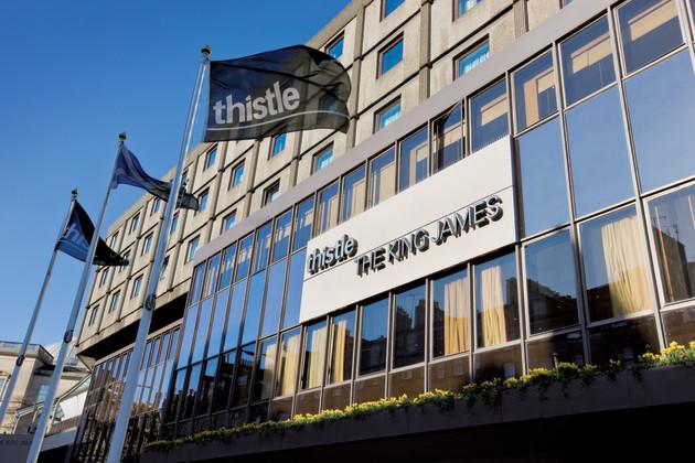 Thistle Edinburgh The King James Hotel 1