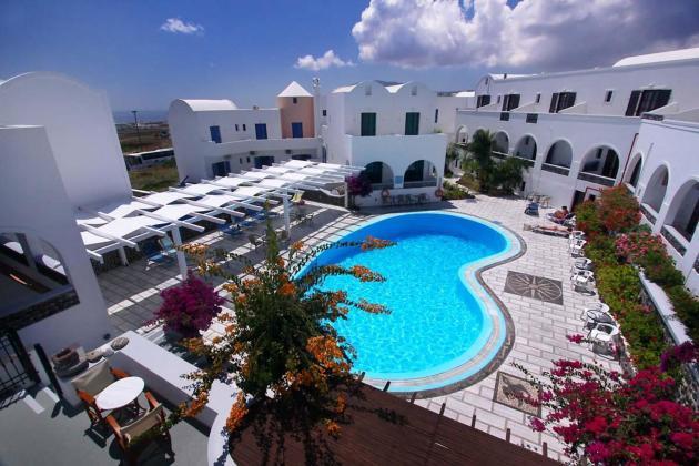 New Haroula Hotel  Fira  From  U00a3129