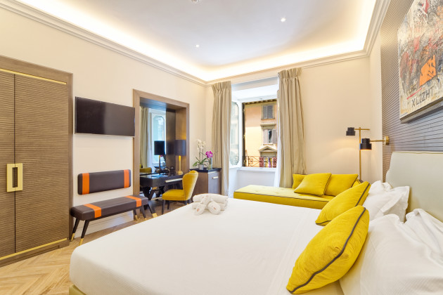 The k boutique hotel rome from 142 for Hotel boutique rome