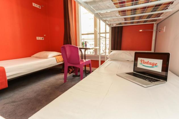hotel vintage paris gare du nord by hiphophostels par s desde 205 rumbo. Black Bedroom Furniture Sets. Home Design Ideas