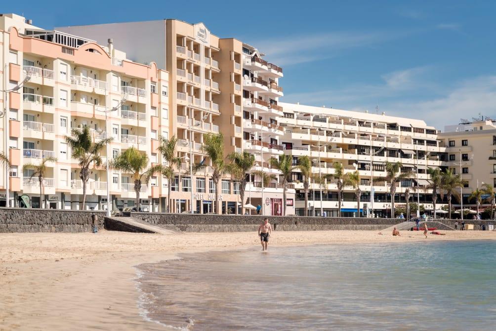 Sevilla - Lanzarote - Hotel Diamar
