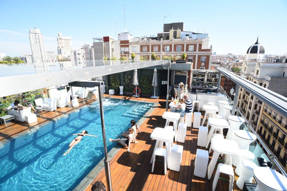 A Coruña - Madrid - Hotel Santo Domingo