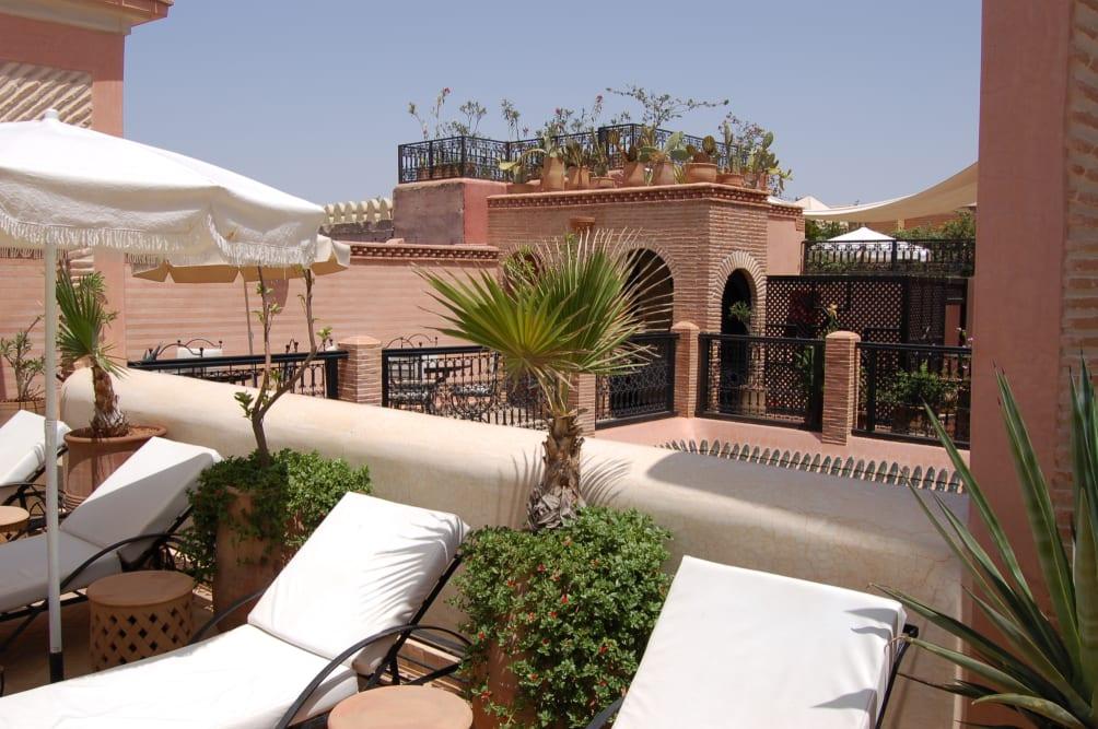 Barcelona - Marrakech - Riad Les Trois Palmiers El Bacha