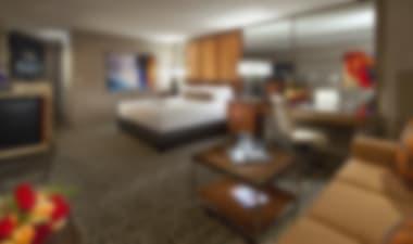 Hotel Spektakuläres Resort-Casino mit einem riesigen Poolkomplex, faulen Flüssen und Wasserfällen
