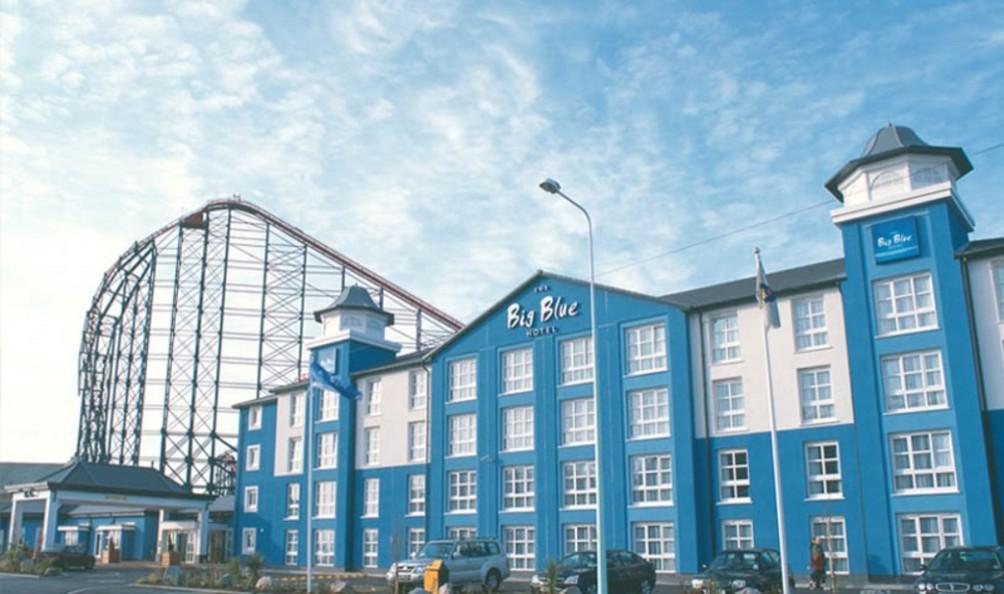 Big Blue Hotel Blackpool Parking