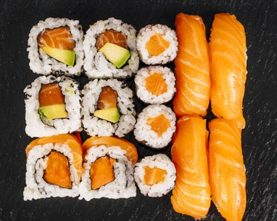 Salmon selection 14u.