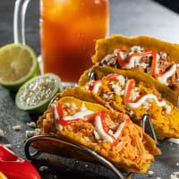 Trió de Tacos de Plátano Macho