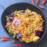 Arroz Kimchi