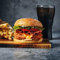 Menu Crispy Chicken Club Burger