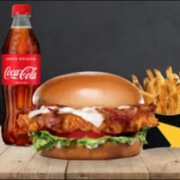 Menu GR Bacon & Cheese Crispy Chicken