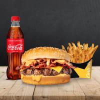 Menú MD Bacon Angus 1/4 Libra