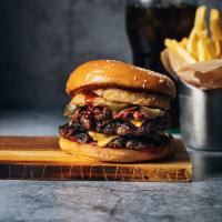 Menu Chili Monster Burger