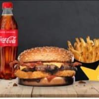 Menú MD Western Bacon Cheeseburger