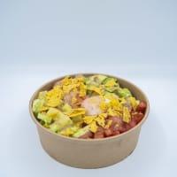 Poke Huevo y Salmón Grande