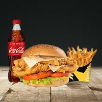 Menu MD Kong Chicken Burger