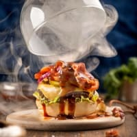 Single Special Smoke BBQ Burger 150 grs