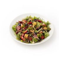 Ensalada de quinoa y frutos rojos (con vinagreta de miso)